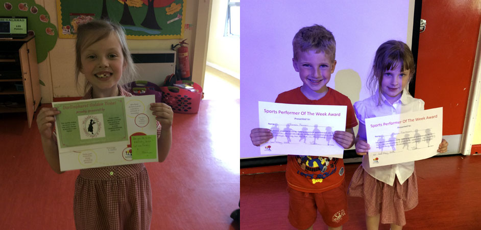 This week's KS1 winners